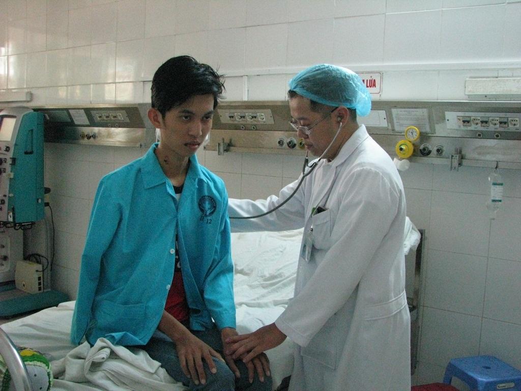Hiện sức khỏe của bệnh nhân Phúc đã ổn định và sẽ xuất viện trong vài ngày tới