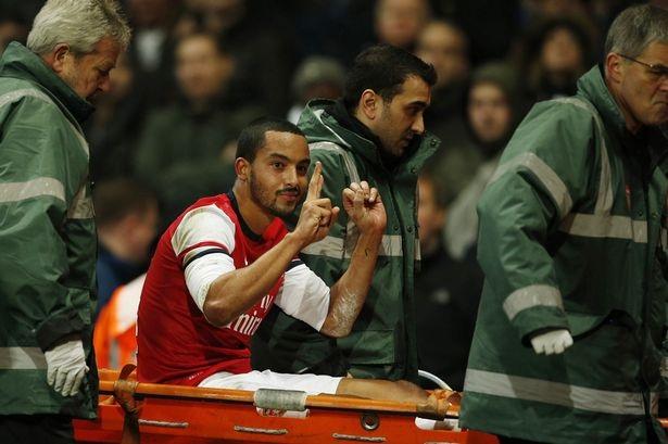 Chấn thương luôn là kẻ thù với Theo Walcott