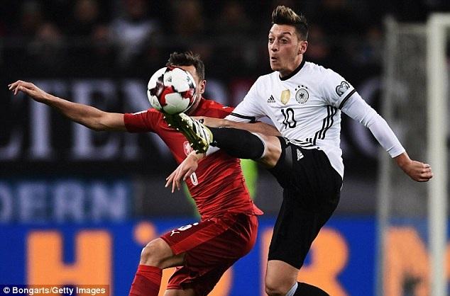 Đội tuyển Đức dễ dàng đánh bại CH Séc