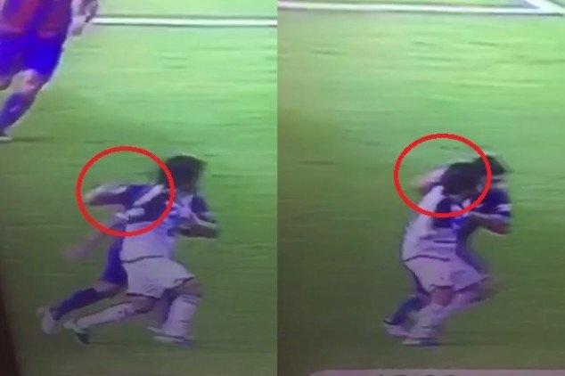 Suarez bị phát hiện chơi xấu đối thủ
