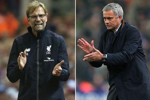 Mourinho và Jurgen Klopp có hai phong cách lãnh đạo đối lập