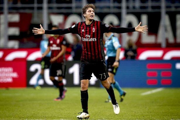 Tài năng trẻ sinh năm 1998, Manuel Locatelli ghi bàn thắng duy nhất trận đấu