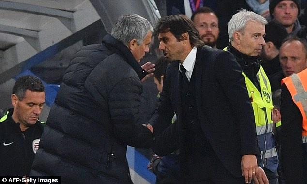 HLV Mourinho nhắc nhở Conte