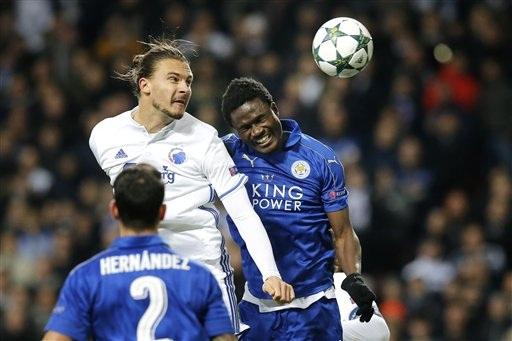 Leicester City vẫn chưa để thủng lưới ở Champions League mùa này