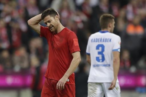 Bayern Munich gây thất vọng trong trận đấu gặp Hoffenheim