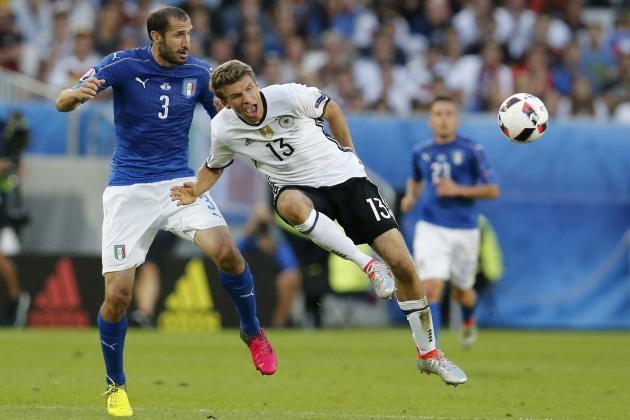 Italia có nhiều cơ hội chiến thắng