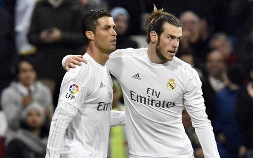 C.Ronaldo và Gareth Bale tỏa sáng trong năm 2016
