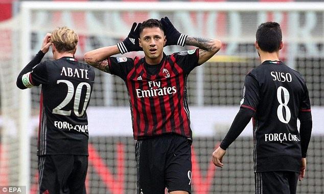 Nhưng AC Milan đã xuất sắc lội ngược dòng để giành chiến thắng