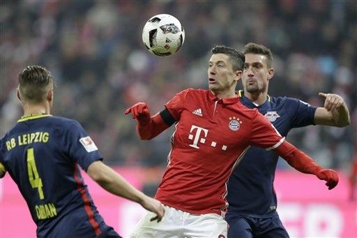 Bayern Munich vùi dập Leipzig với tỷ số 3-0