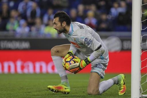 Diego Lopez thi đấu ổn định trong màu áo Espnayol