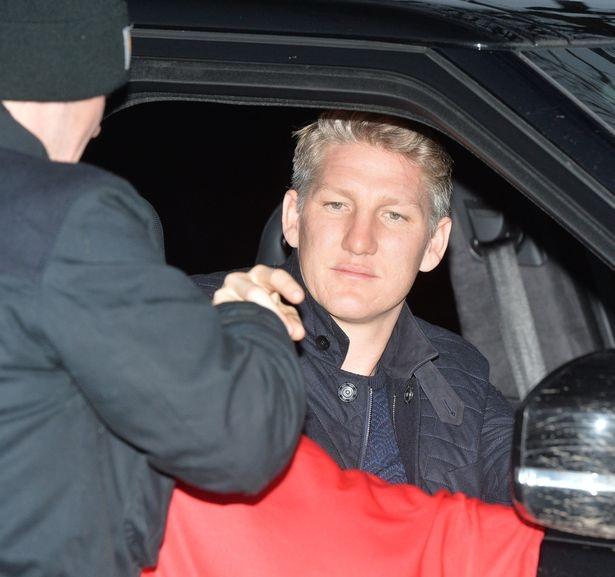 Schweinsteiger rời khỏi trung tâm huấn luyện Carrington chỉ sau 15 phút