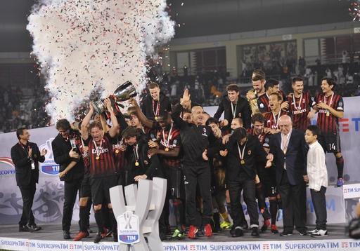 Họ đã giành siêu cúp Italia lần thứ 7 trong lịch sử