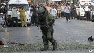 Thủ phạm đánh bom ở Bangkok là người Iran - 1