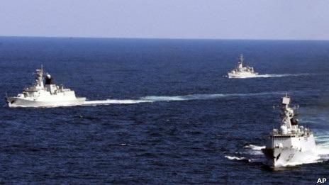 Một cuộc tập trận hải quân của Trung Quốc (ảnh minh họa).