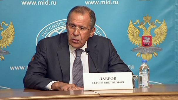 Ngoại trưởng Nga Sergei Lavrov liên tục công bố các sáng kiến gỡ rối tình hình Syria.