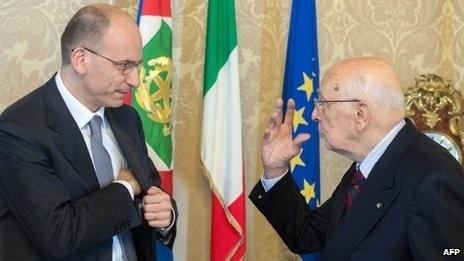 Chiến thắng của Thủ tướng Letta có sự hỗ trợ rất lớn của Tổng thống Napolitano.