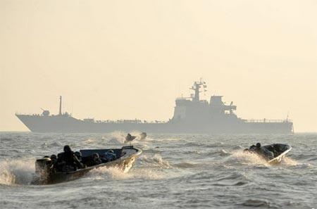 Trung Quốc ngày càng tăng cường các hoạt động quân sự ở Biển Đông.
