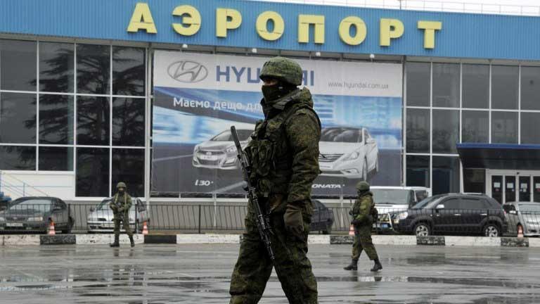 Từ ngày 11/3, mọi chuyến bay thương mại ra vào Crimea đều bị hủy bỏ.