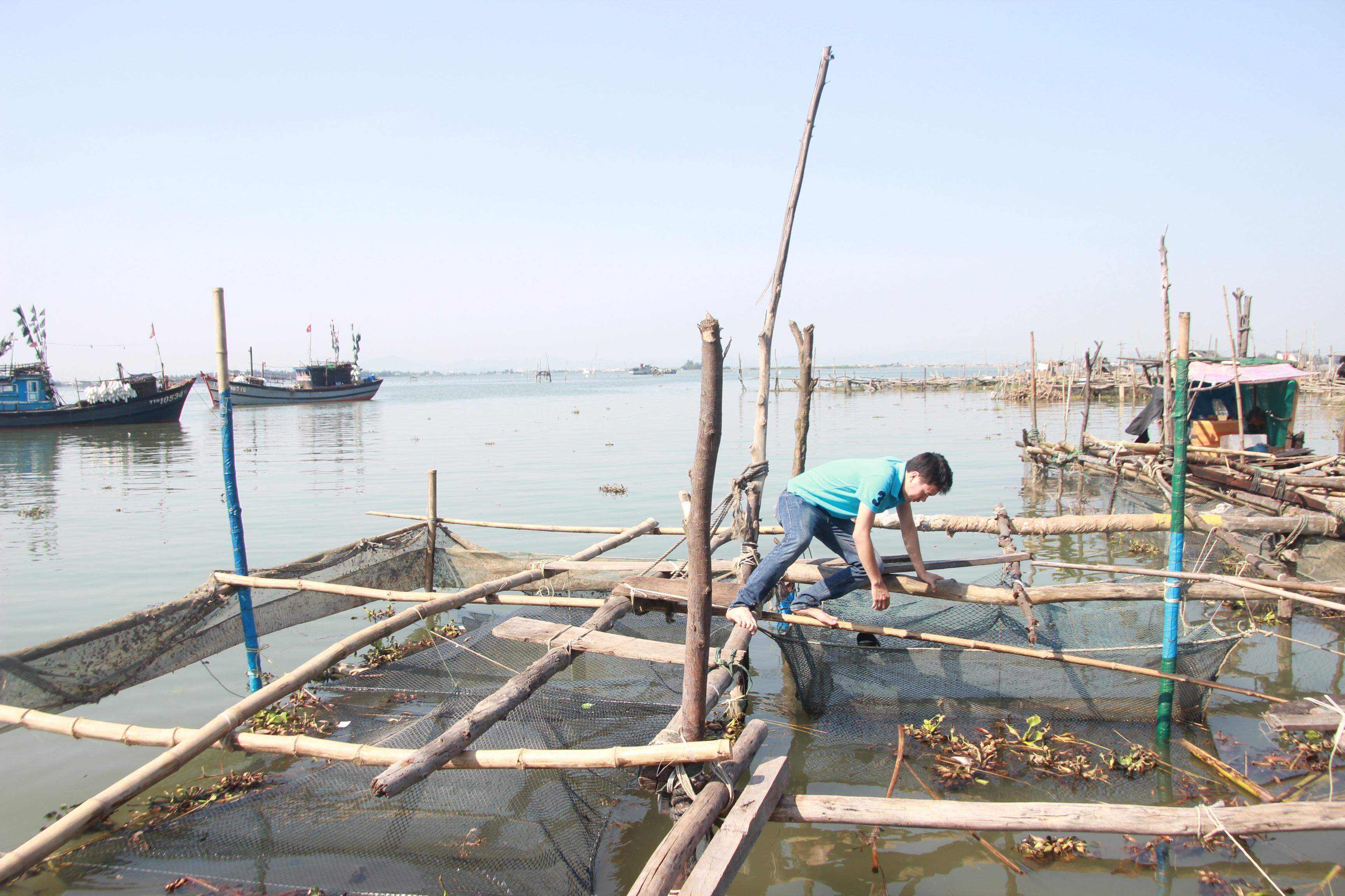 Hệ đầm phá tại Huế có diện tích rộng nhất Đông Nam Á với hơn 23.000 hecta đã bị thiệt hại nhiệu sau sự cố Formosa