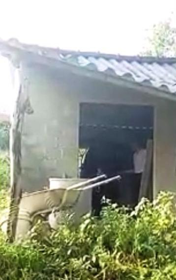 Nhà kho nơi phát hiện xác nạn nhân