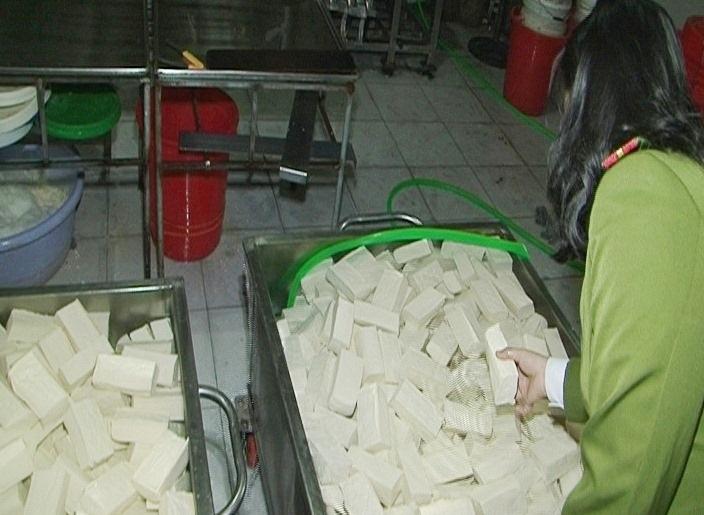 Số lượng khuôn đậu dùng thạch cao để tẩm vào ở cơ sở bị phát hiện