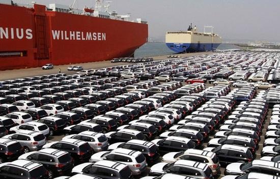 Xe nhập khẩu đã bắt đầu giảm do điều tiết của chính sách (ảnh minh họa)