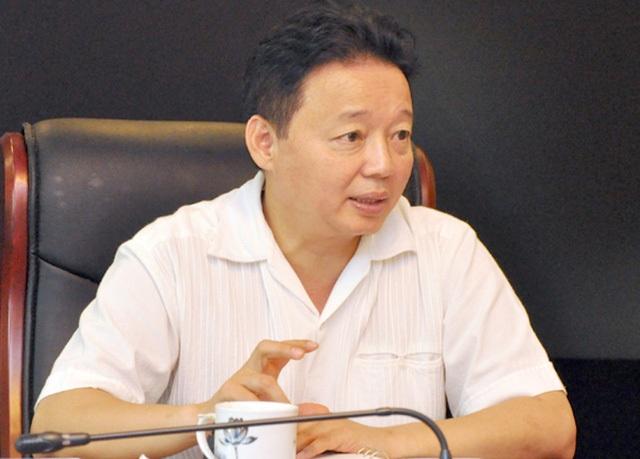 Bộ trưởng Bộ Tài nguyên và Môi trường Trần Hồng Hà chỉ đạo xử lý nóng cụ áp thuế 5,7 tỷ đồng