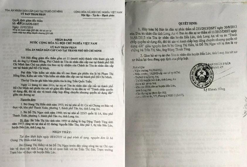 """Vụ cụ bà 76 tuổi kêu cứu ở Long An: Trở lại """"điểm ban đầu"""" sau hàng trăm lá đơn khiếu nại! - Ảnh 1."""