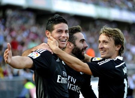 Modric và các đồng đội đang thi đấu rất bùng nổ