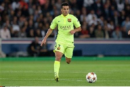 Pedro đang muốn rời Barcelona