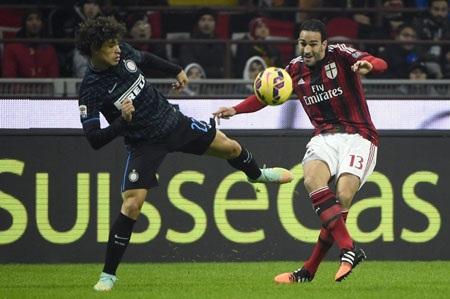Inter chia điểm cùng AC Milan