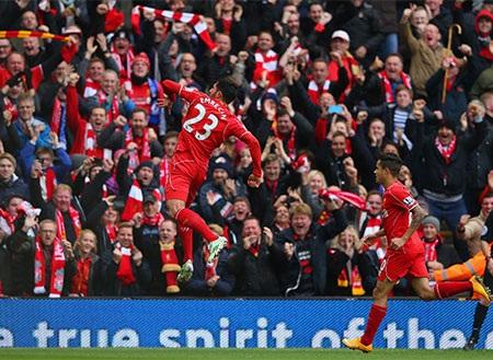 Emre Can bất ngờ với bàn thắng mở tỉ số của trận đấu