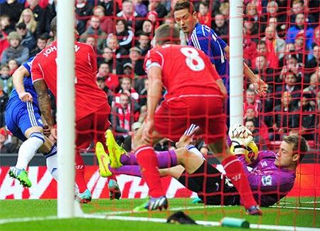 Tuy nhiên chỉ đến phút 19, Chelsea đã gỡ hòa