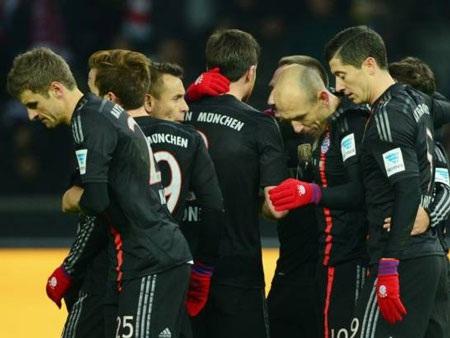 Bayern Munich tiếp tục thống trị tuyệt đối trên BXH Bundesliga
