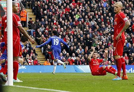 Niềm vui của Costa và sự thất vọng của các cầu thủ Liverpool