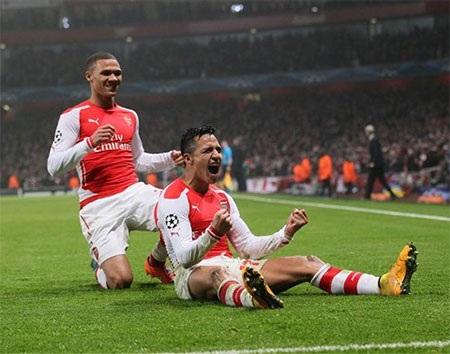 Arsenal vừa giành chiến thắng quan trọng trước Dortmund