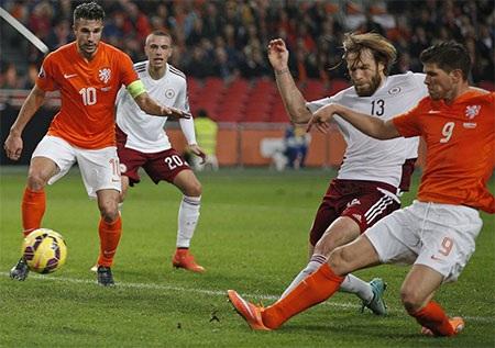Hà Lan đã hoàn toàn vượt trội trước Litva