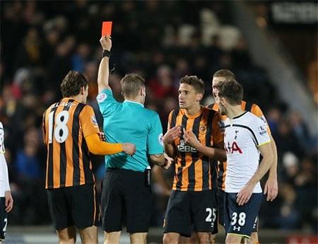 Hull đã thua ngược Tottenham ở vòng đấu vừa qua