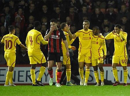 Liverpool vượt trội so với đối thủ