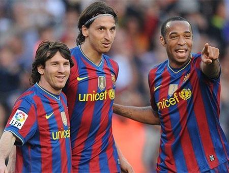 Năm 2010, Henry có danh hiệu vô địch La Liga thứ hai với Barcelona