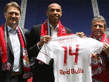 Tháng 7 năm 2010, Henry gia nhập New York Red Bulls