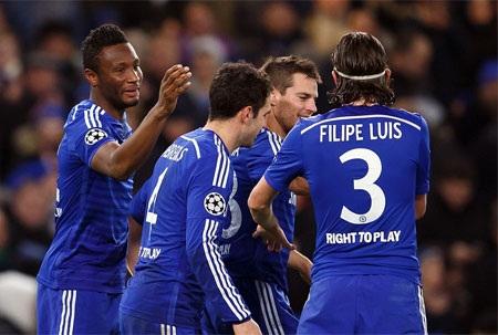 Chiến thắng áp đảo của Chelsea trước Sporting