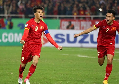 Công Vinh mang về hi vọng nhỏ cho đội tuyển Việt Nam, ảnh: Minh Phương
