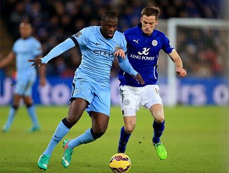 Man City đã thắng vất vả trước Leicester ở vòng đấu trước