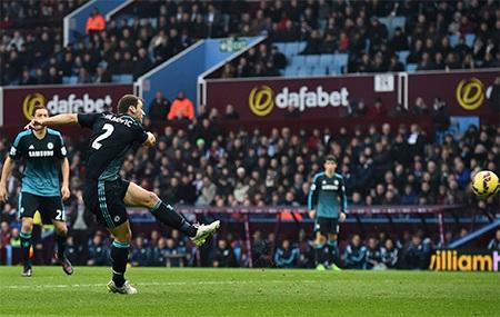 Tuy nhiên, Chelsea vẫn thắng 2-1 nhờ bàn thắng của Ivanovic