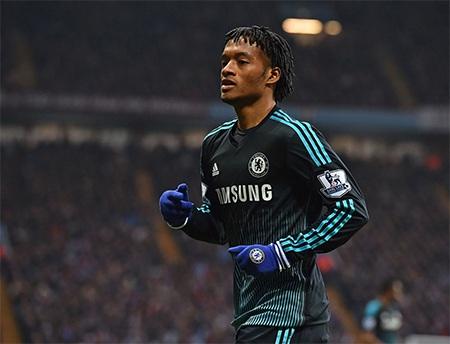 Cuadrado ra mắt Chelsea nhưng anh thi đấu không ấn tượng