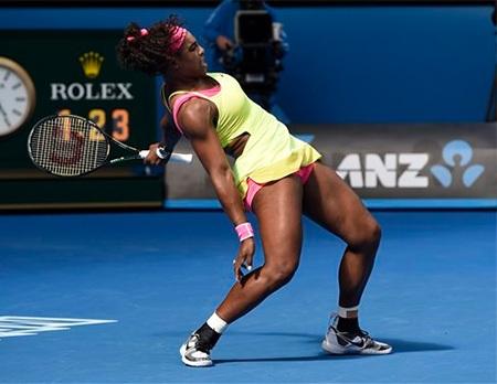 Serena Williams phát huy bản lĩnh hạ gục sức trẻ của Keys
