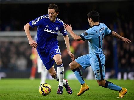 Trận đấu giữa Chelsea và Man City diễn ra rất quyết liệt