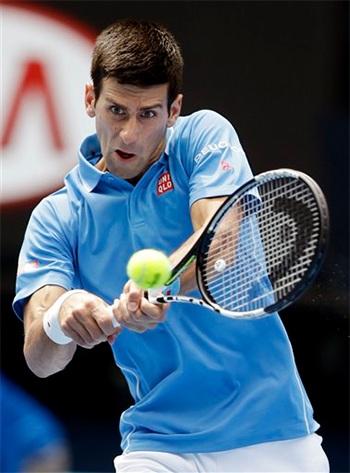 Djokovic đã giành quyền đi tiếp