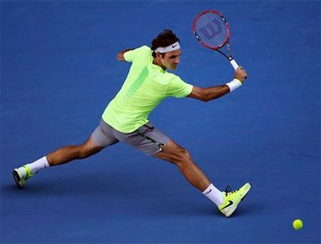 Federer thi đấurất bản lĩnh sau khi bị thua